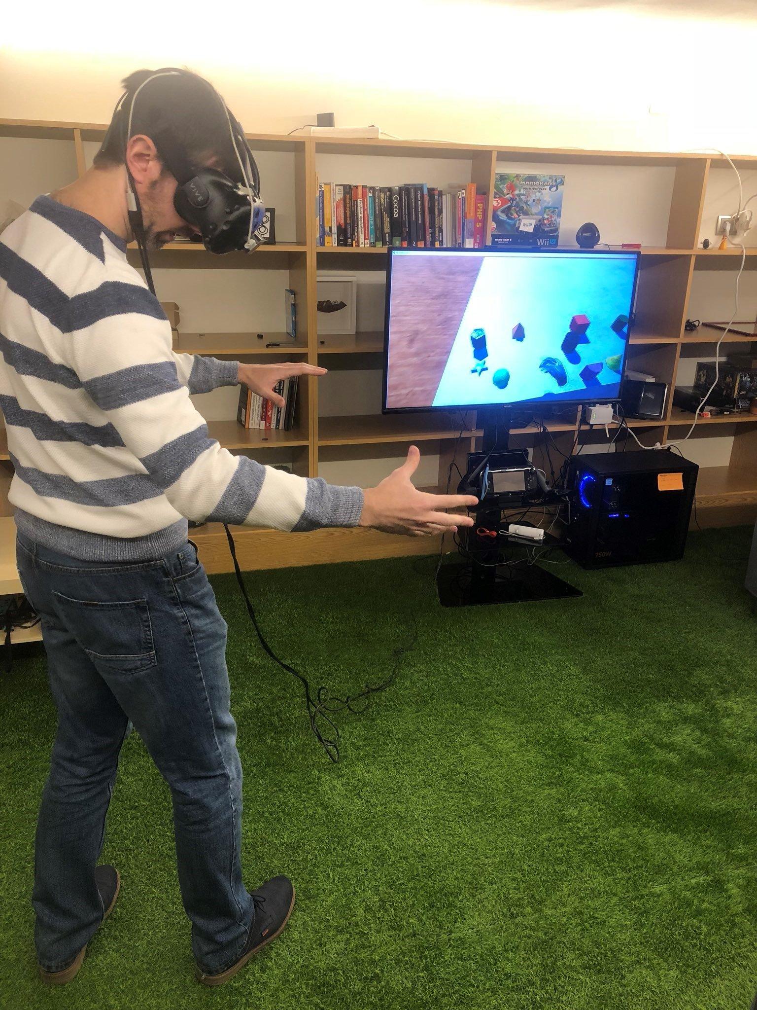 Realidad virtual aplicada a la estimulación cognitiva